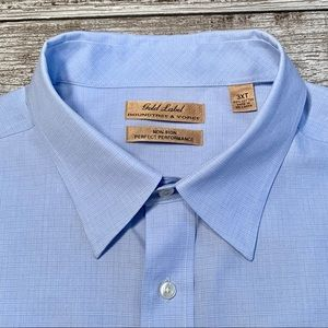 Roundtree & Yorke Gold Label Dress Shirt (3XLT)